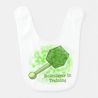 Roleplayer en el entrenamiento del babero verde