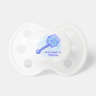Roleplayer in Training Blue Pacifier
