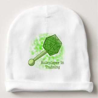 Roleplayer in Training Green Beanie