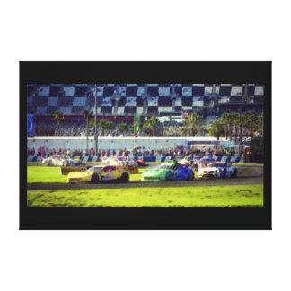 Rolex 2015 24 horas de Daytona 60x40 Impresiones En Lona Estiradas