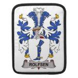 Rolfsen Family Crest iPad Sleeves