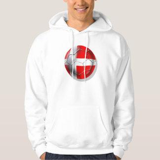 Roligans danish Vikings Denmark soccer gifts Hoodie