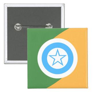 Rolimdemoura Rondonia bandera del Brasil, el Brasi Pins
