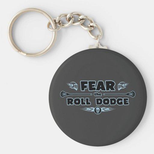Roll Dodge - blue Keychains