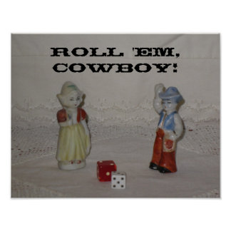 Roll 'Em, Cowboy Poster