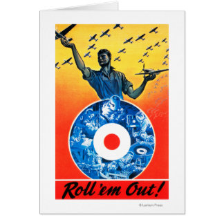 Roll 'em Out Royal Canadian Air Force Card