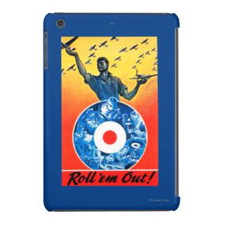 Roll 'em Out Royal Canadian Air Force iPad Mini Retina Cover