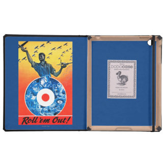Roll 'em Out Royal Canadian Air Force iPad Cover