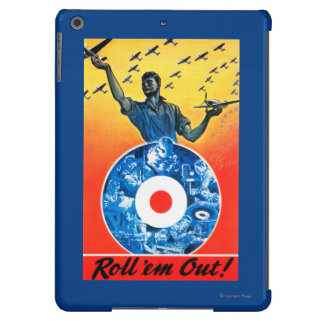 Roll 'em Out Royal Canadian Air Force iPad Air Case