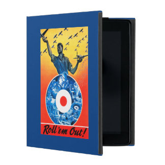 Roll 'em Out Royal Canadian Air Force iPad Case