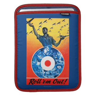 Roll 'em Out Royal Canadian Air Force iPad Sleeve