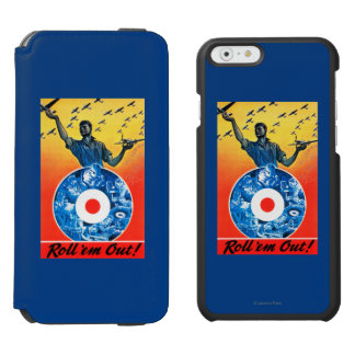 Roll 'em Out Royal Canadian Air Force iPhone 6/6s Wallet Case