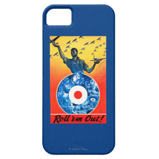 Roll 'em Out Royal Canadian Air Force iPhone SE/5/5s Case