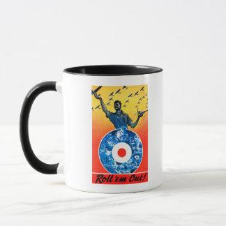 Roll 'em Out Royal Canadian Air Force Mug