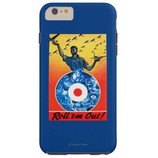 Roll 'em Out Royal Canadian Air Force Tough iPhone 6 Plus Case