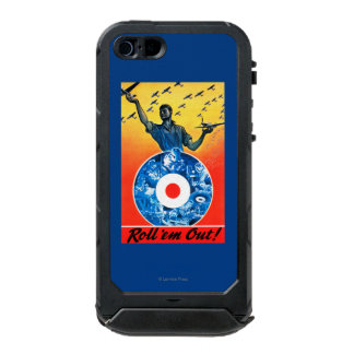 Roll 'em Out Royal Canadian Air Force Waterproof Case For iPhone SE/5/5s