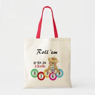 Roll 'em  Tote  Bag
