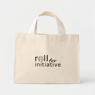 Roll for initiative tote bags