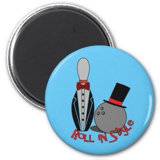 Roll in Style - Bowling Party Favors Magnet