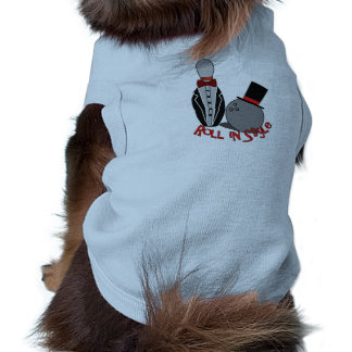 Roll in style - Funny Bowling Shirt for Dogs Dog Tee Shirt