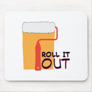 Roll It Out Mouse Pad