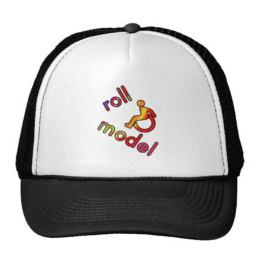 Roll Model - Disability Tees - in bright colours Trucker Hat