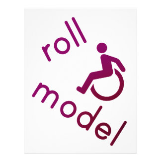 Roll Model - Disability Tees - in purple Full Color Flyer