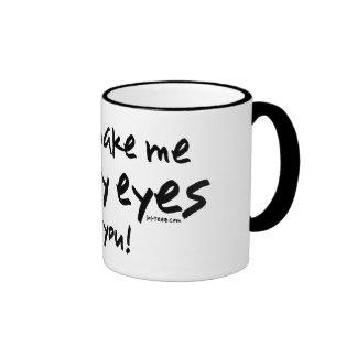 Roll My Eyes Coffee Mugs