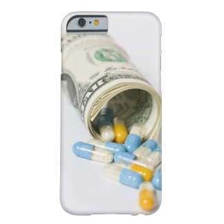 Roll of Dollar notes and capsules Barely There iPhone 6 Case
