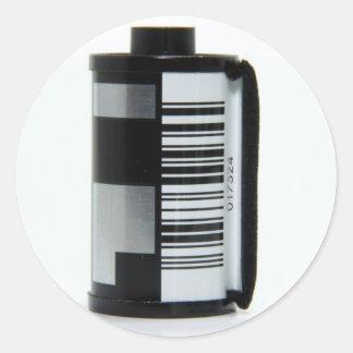 Roll of Film Classic Round Sticker