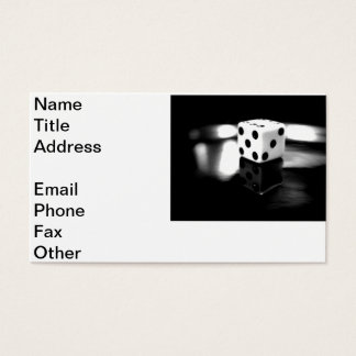 Roll of the Dice Business Card