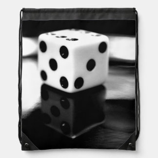 Roll of the Dice Drawstring Bag