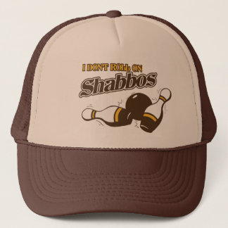 Roll on Shabbos Dude Trucker Hat
