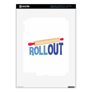 Roll Out Decals For iPad 3