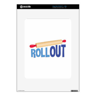 Roll Out iPad Decals