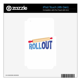Roll Out iPod Touch 4G Decals