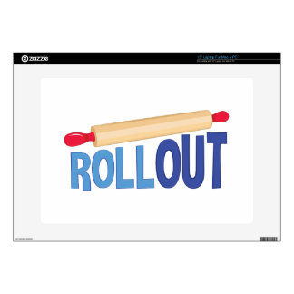Roll Out Laptop Decal