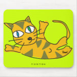 Roll Over Cat Mousepad