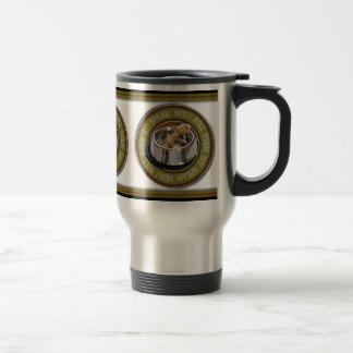 Roll Over! Stainless Travel Mug