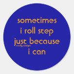 roll step sticker