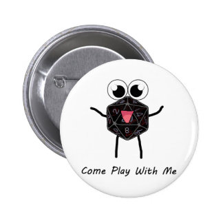 Roll the Dice 2 Inch Round Button