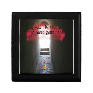 Roll the dice and meet your fate keepsake box