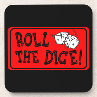 Roll The Dice Beverage Coaster