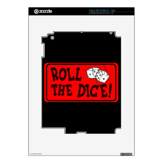 Roll The Dice iPad 2 Skins