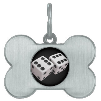 Roll the Dice! Pet Tag