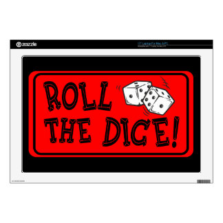 Roll The Dice Skin For Laptop