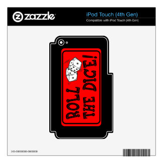 Roll The Dice Skins For iPod Touch 4G