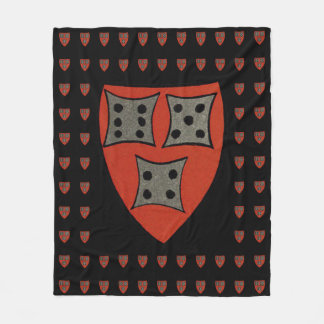 Roll the dice, take your chances fleece blanket