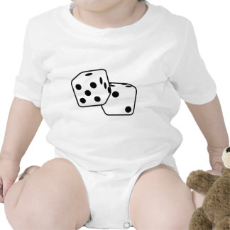 Roll the Dice Baby Bodysuits
