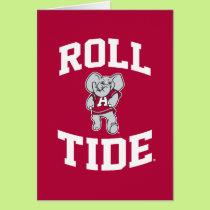 Roll Tide with Big Al Card